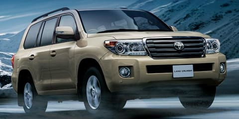 2012 Toyota LandCruiser 200 Series on sale in Australia in March