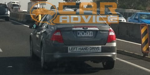 Ford Fusion Hybrid spied testing in Melbourne