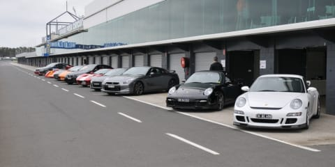Supercar Club track day - Phillip Island