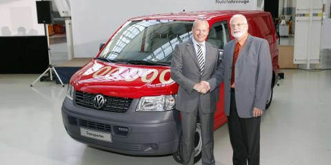VW Commercial builds millionth T5