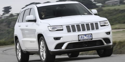 Jeep Grand Cherokee Summit special edition from $75,000