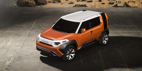 Toyota FT-4X concept goes official in New York
