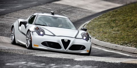 Alfa Romeo confirms 4C 8:04 Nurburgring lap time with video