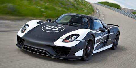 Porsche 918 Spyder: plug-in supercar takes shape