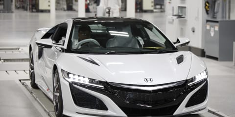 2017 Honda NSX: Australian models now in production