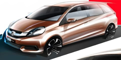 Honda Brio-based MPV sketches reveal seven-seater for Asian markets