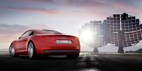 Audi e-tron revealed at Frankfurt
