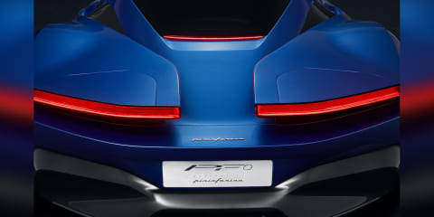 Pininfarina PF0 concept rear-end revealed