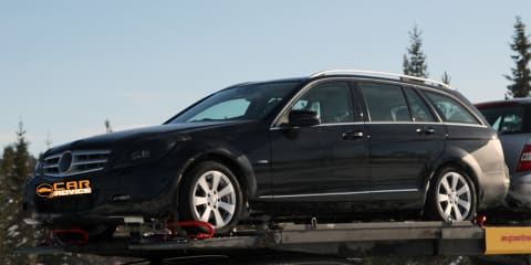 2011 Mercedes-Benz C-Class Estate spy photos