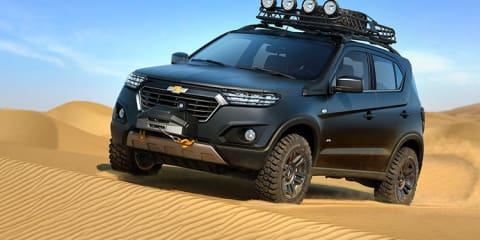 Chevrolet Niva : Russian SUV's Australian connection revived