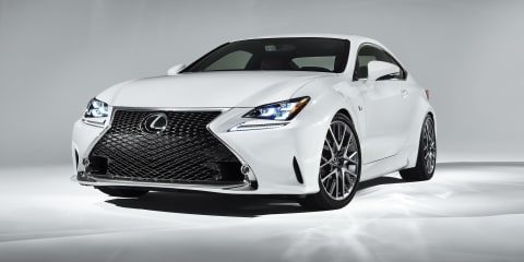 Lexus RC350 F Sport revealed