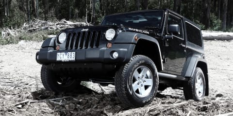 Jeep Wrangler only musters four stars in ANCAP safety test