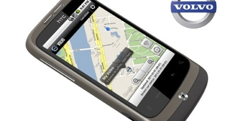 Volvo releases smart phone application with car connection