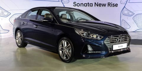 2017 Hyundai Sonata facelift revealed in Korea