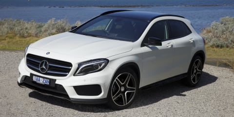 Mercedes-Benz GLA-Class pricing and specifications