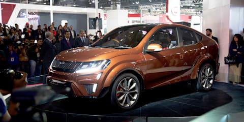 2016 Delhi Auto Expo - Mahindra XUV Aero Concept revealed