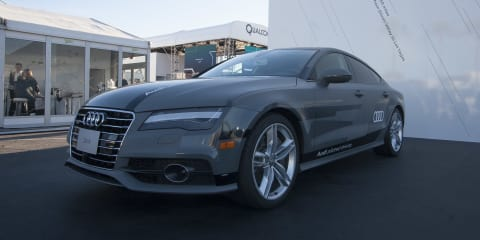 Audi A7 Piloted Driving concept: In-depth look at how an autonomous car is developed and how it works