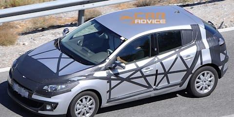 2013 Renault Megane spy shots
