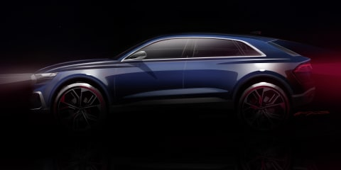 Audi Q8 goes official with Detroit concept teasers
