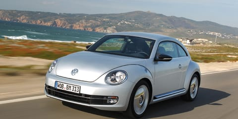 2013 Volkswagen Beetle lands in Australia