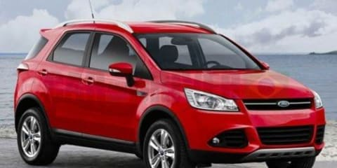 2012 Ford EcoSport: Fiesta-based SUV for Australia leaked
