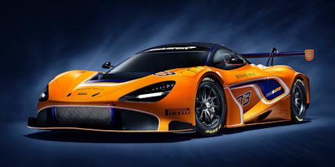McLaren 720S GT3 revealed