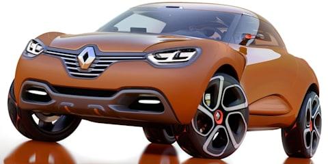Renault CAPTUR Concept Geneva preview