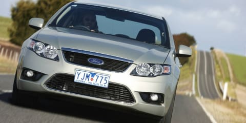 Ford Falcon EcoLPi matches petrol Falcon's five-star ANCAP safety rating
