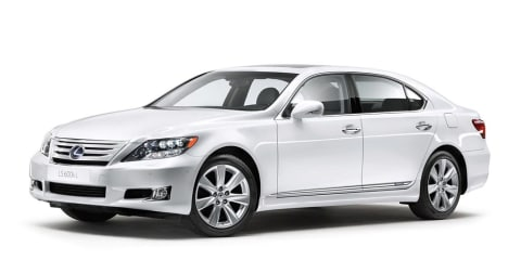 2010 Lexus LS 600h, LS 600hL unveiled at Frankfurt