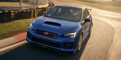 Subaru BRZ tS and WRX STI Type RA revealed in US