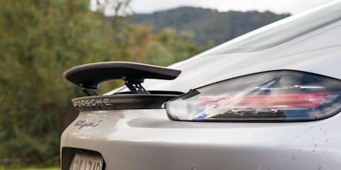 Audi TT RS Coupe v Porsche 718 Cayman S comparison