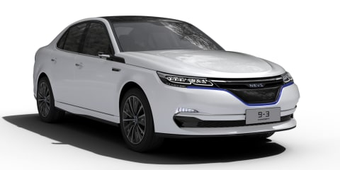 NEVS 9-3, 9-3X concepts unveiled: Electric Saab revival to enter production 2018