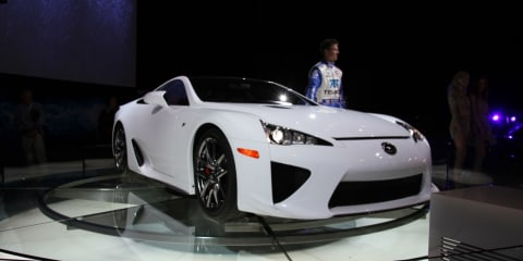 Lexus LFA at 2010 AIMS