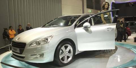 Peugeot 508 at Australian International Motor Show 2011