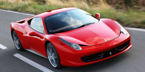 Ferrari 458 Italia is world's most awarded supercar