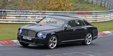2016 Bentley Mulsanne facelift spy photos