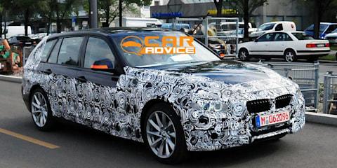 2012 BMW 3 Series Touring Spy Photos
