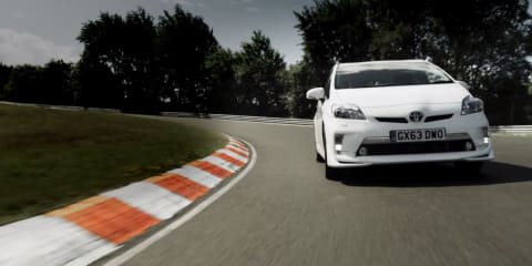 Toyota Prius Plug-in Hybrid sets new Nurburgring lap record
