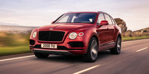 2018 Bentley Bentayga V8 revealed, here in June - UPDATE