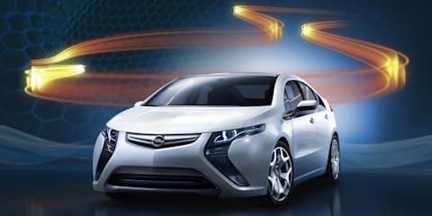 Opel Ampera unveiled before Geneva