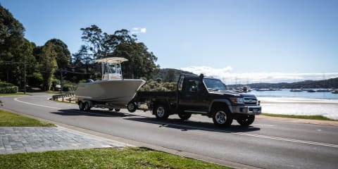 2017 Toyota LandCruiser 70 Series ute long-term review, report four: towing