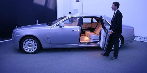 Rolls-Royce Ghost Extended Wheelbase preview