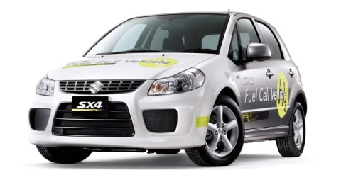 Suzuki finalises small-scale hydrogen fuel cell production line