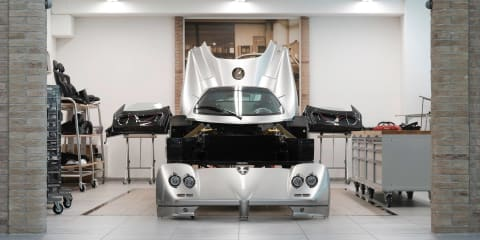 Pagani launches 'Rinascimento' restoration program