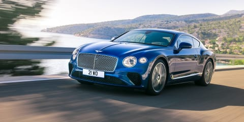 2018 Bentley Continental GT priced from $422,600