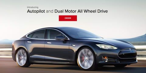Tesla 'D' dual-motor all-wheel drive and Autopilot tech revealed