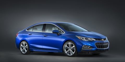 2016 Chevrolet Cruze sedan revealed: Australian prospects unclear