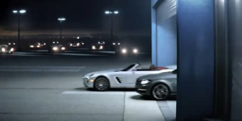 Mercedes-Benz SLS AMG Roadster, C63 AMG Coupe, Biome revealed in Super Bowl commercial