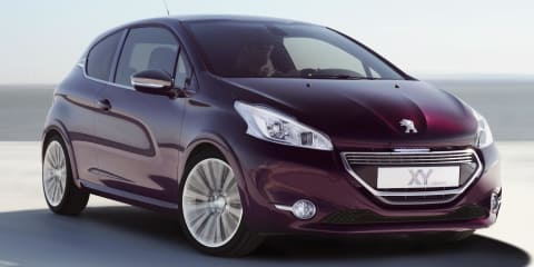 Peugeot 208 XY concept headed to Geneva