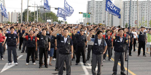 Ssangyong production to resume, strike over